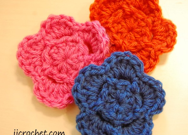 Crochet Flower Pattern Pictures Jjcrochet