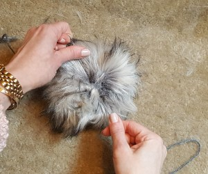 Step 7: How to Make a Faux Fur Pom-Pom