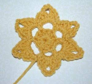 Crochet Flower or Star Pattern