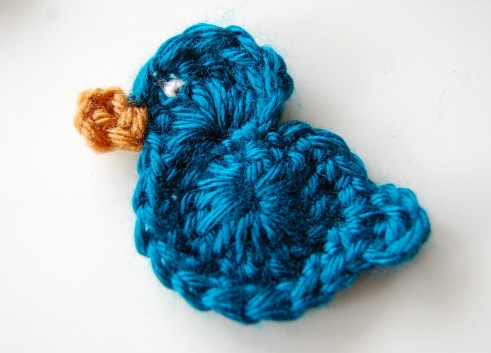 Free Crochet Bird Pattern