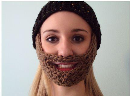 8d796f75b Crochet Beard Pattern & Free Hat Pattern