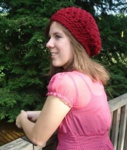 Crochet Beret Hat Pattern