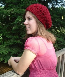 Crochet Beret Hat Pattern