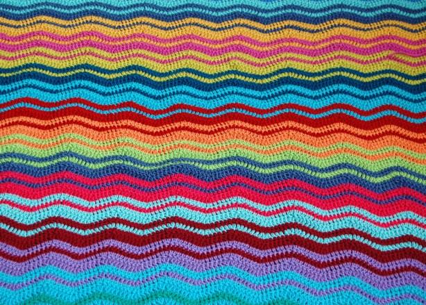 Crochet Ripple Blanket