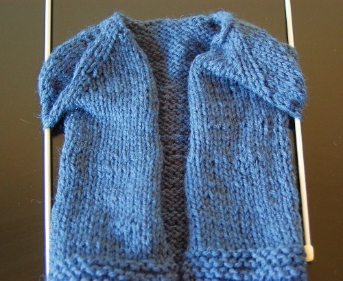 Knit Baby Sweater