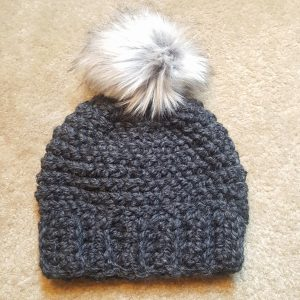 Make a Faux Fur Pom-Pom for a Crochet Hat