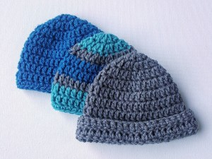 easy baby crochet hat pattern