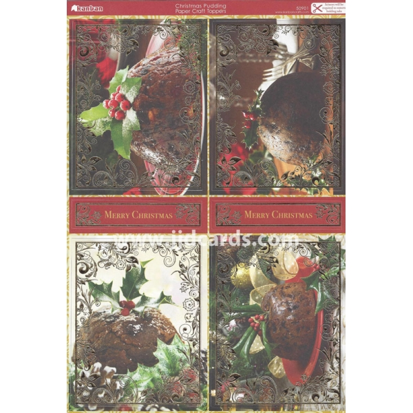 Card Christmas Verses Print