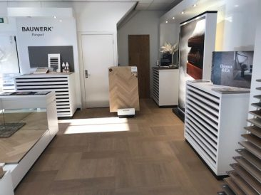 Showroom Bauwerk Parkett