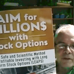 Jeff Weber with AIM For Millions with Stock Options
