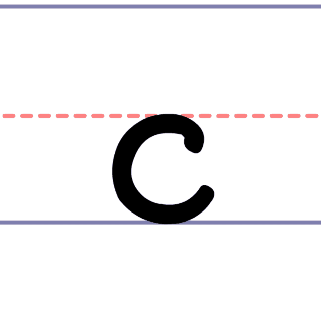 How to Write a Lowercase c