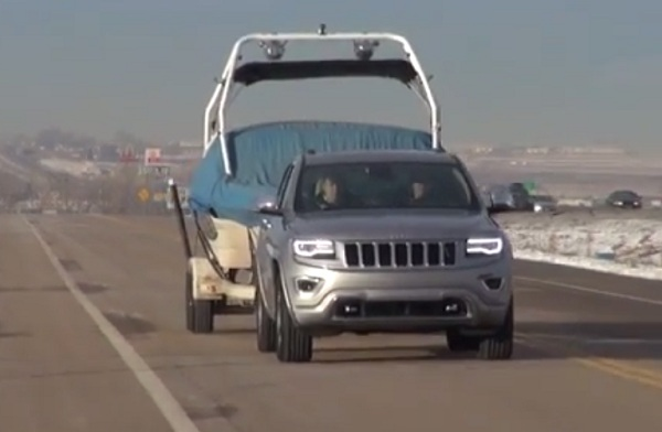 The Fast Lane Car Goes Towing with the 2014 Grand Cherokee