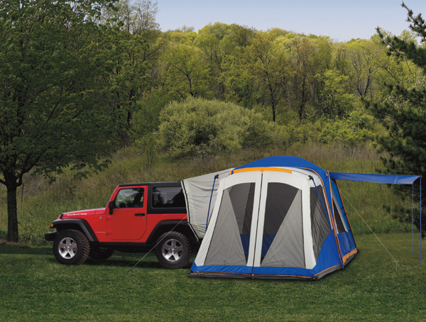 Jeep Tent: New tent features 10-feet -by -10-feet of floor space