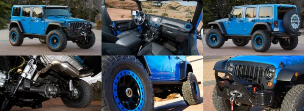 Maximum Performance JK Wrangler Concept Slider