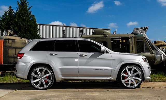 Lifted Jeep Srt8 >> Jeep Grand Cherokee Srt8 Gets A Lift From Forgiato Jk Forum