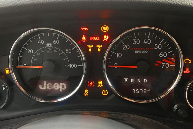 Warning Light Symbols Commander Jeep