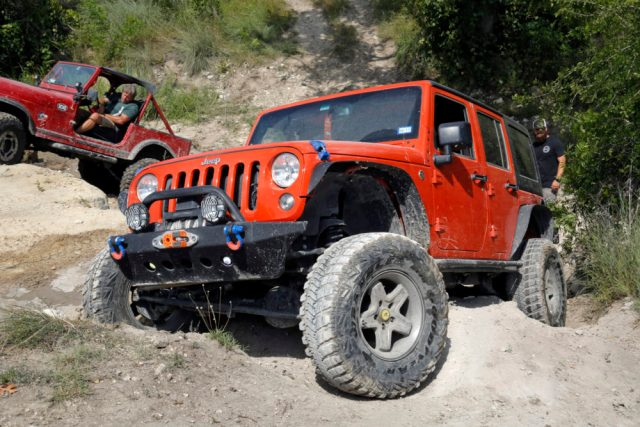Jeep Wrangler Climb the Falls