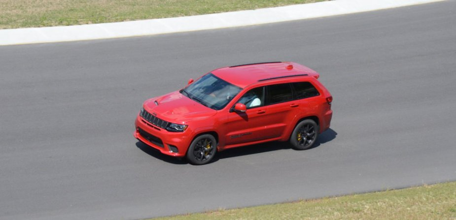 Trackhawk on the Track