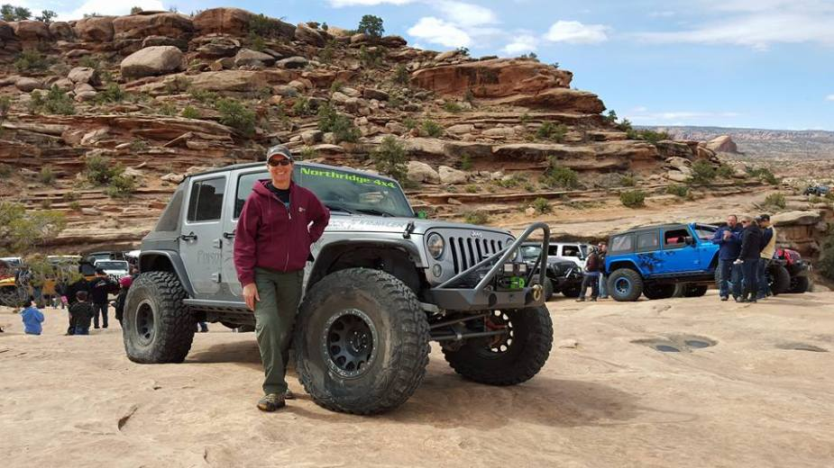 Off-roading tips from Nena Barlow.