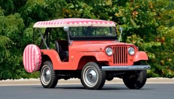 Pink Jeep Surrey Gala Is A Swingin Sixties Sensation Jk Forum