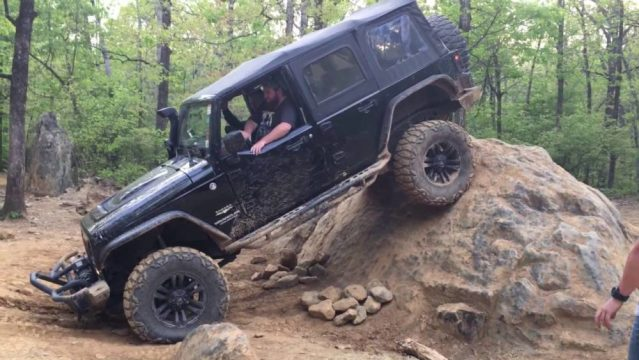 If you're going to take your JKU rock crawling, you're going to need good brakes.