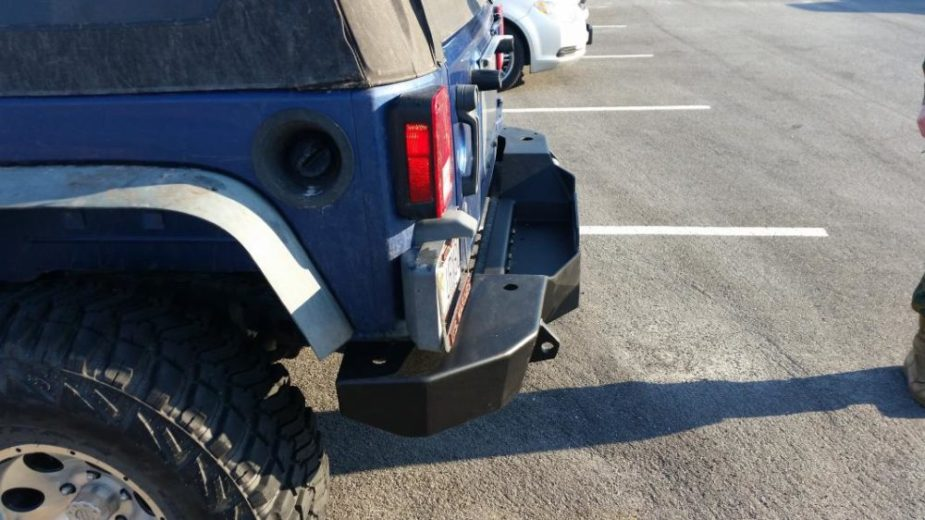 Any off-roading Jeep needs a tougher bumper.