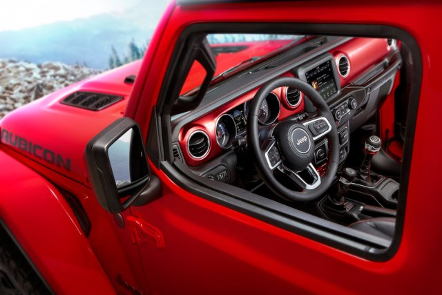 2018 Jeep Wrangler Dash Window View