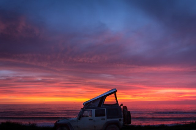 Jeep Sunset Angola