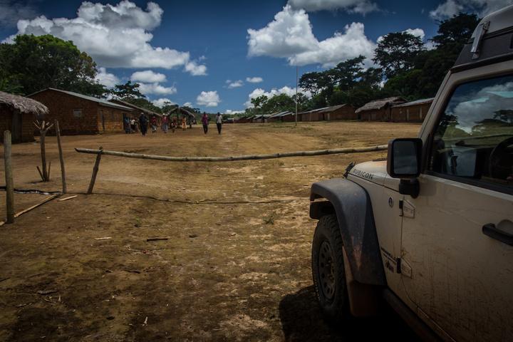 DRC Border gate
