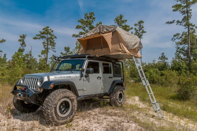 Jeep Wrangler Unlimited Roof Top Tent & Jeep Wrangler Unlimited Roof Top Tent - JK-Forum