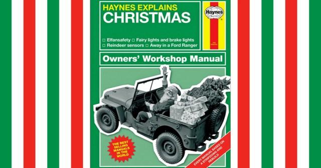 Christmas Haynes Jeep