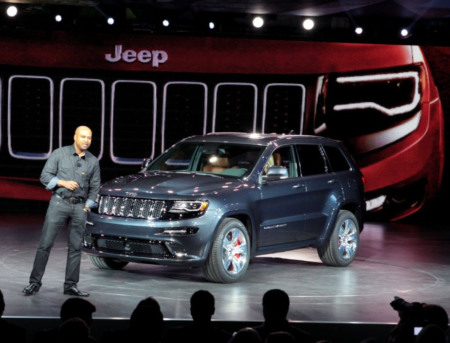 Gilles with the SRT Jeep