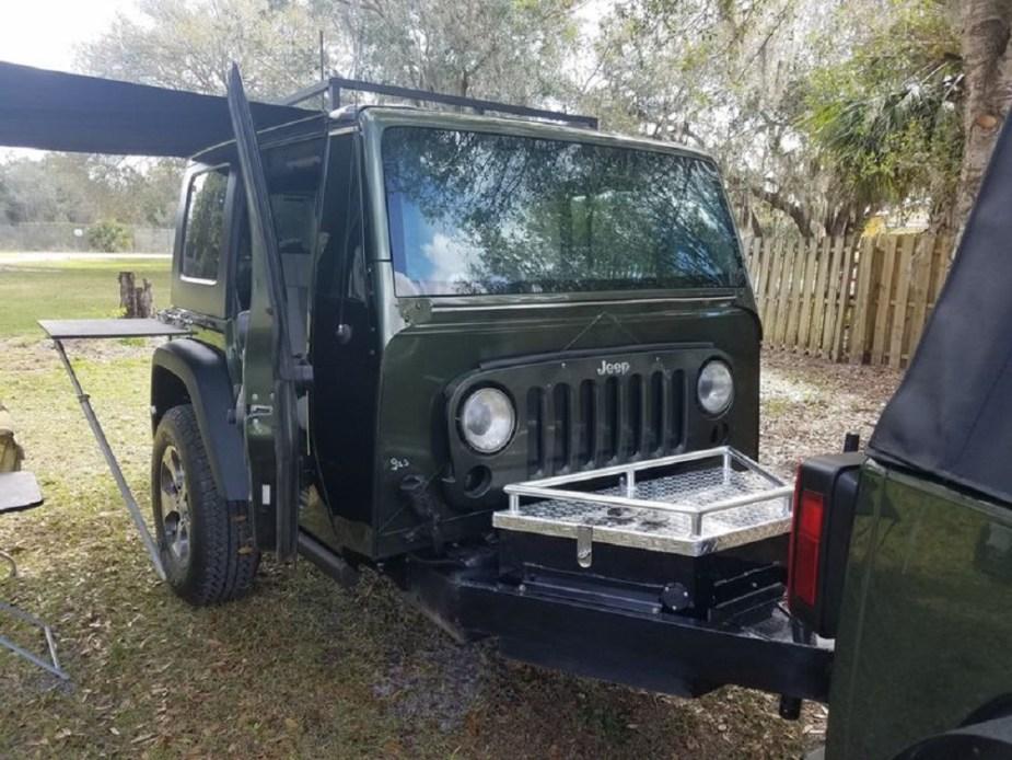 jk-forum.com 2007 Jeep Wrangler Unlimited Rubicon Trailer