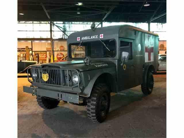 1967 Jeep M725 Military Ambulance