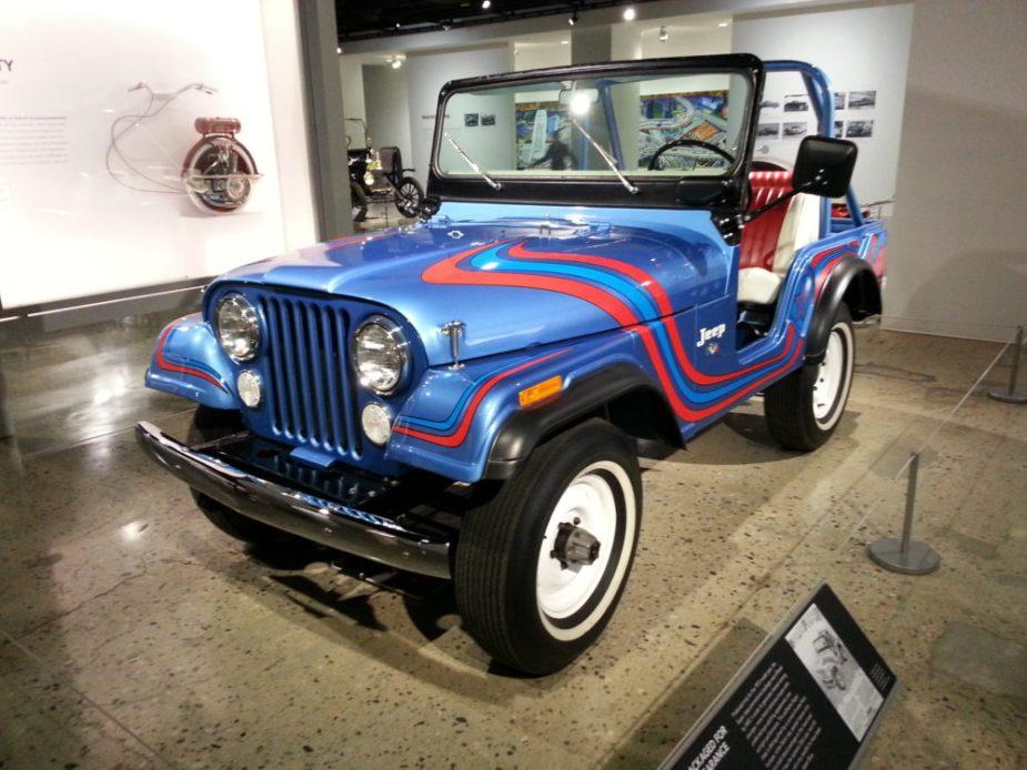 Super Jeep JK Forum at the Petersen Automotive Museum