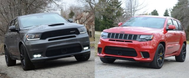 Durango SRT and Trackhawk