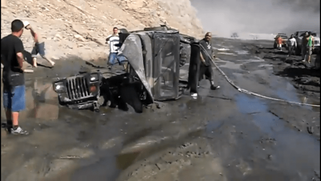 Jeep Fail mud bog recovery