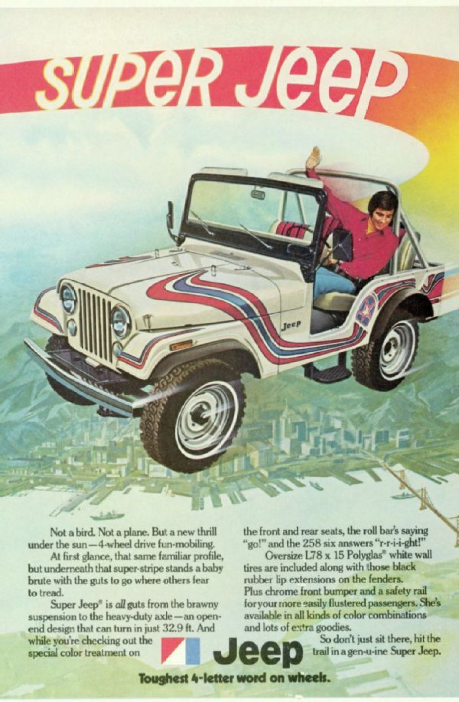 1973 Super Jeep CJ5