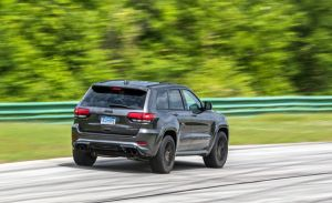 Trackhawk Virginia International Raceway track test
