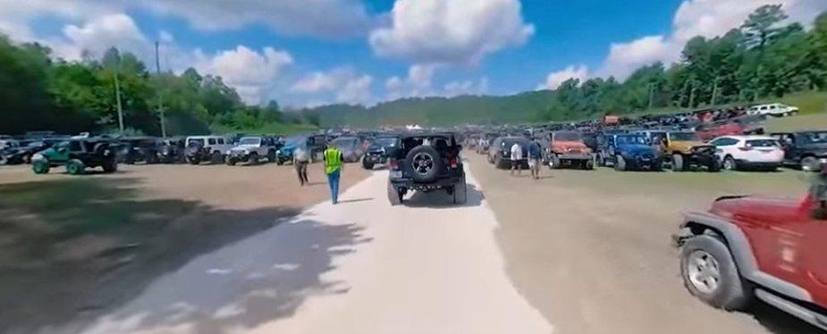 Jeep Festival Parking Area