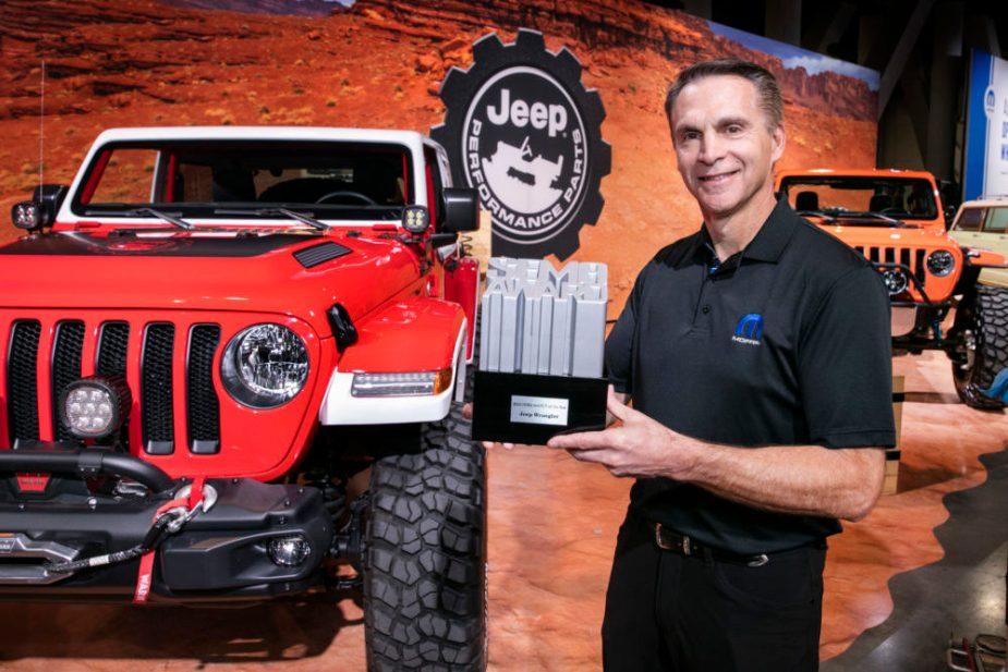 Jeep Wrangler Named SEMA '4x4 / SUV of the Year'