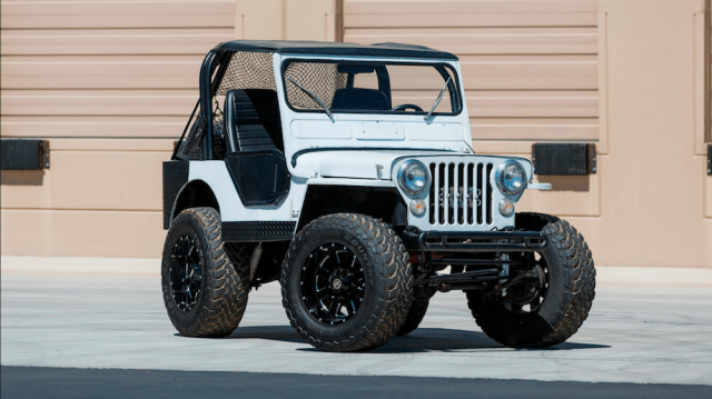 Custom 1951 Willys Jeep CJ-3A