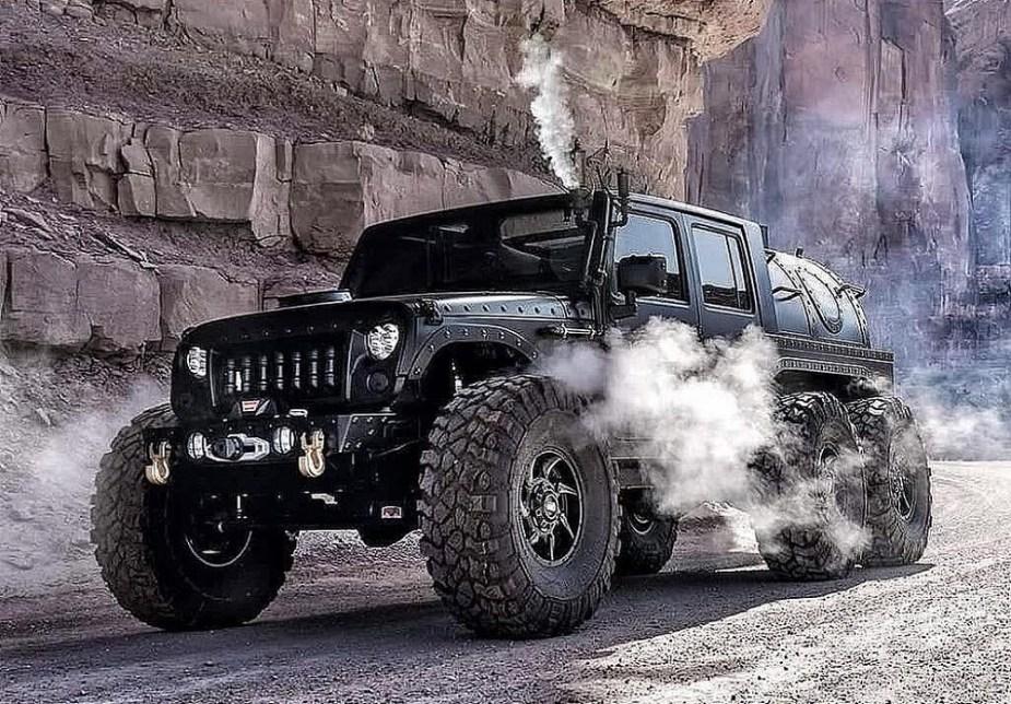 Haük Designs' Steam-Powered Jeep