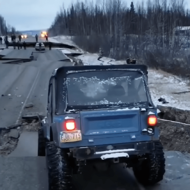 jk-forum.com Destroyed Alaska Highway Jeep CJ-7