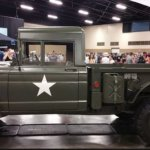 Classic Military Jeep Truck