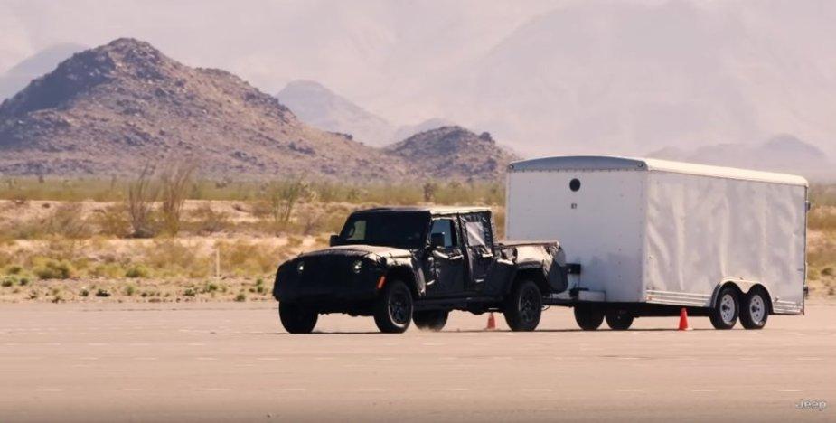 Jeep Gladiator Towing Flat