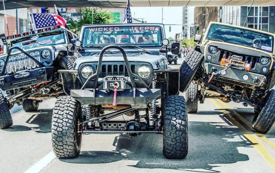 Jeep Fest Fronts