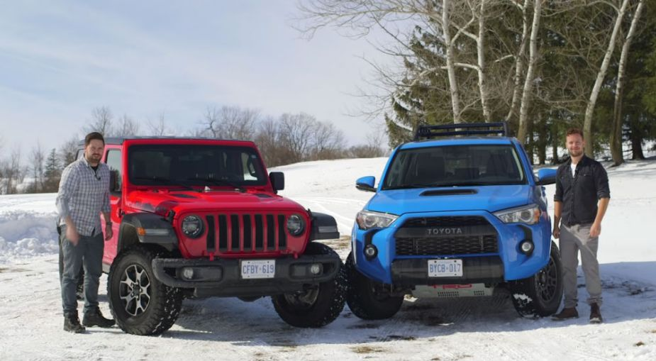 2019 Jeep Wrangler Rubicon Unlimited vs 2019 Toyota 4Runner TRD Pro