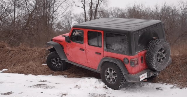 2019 Jeep Wrangler Unlimited with 2.0-liter hybrid engine.