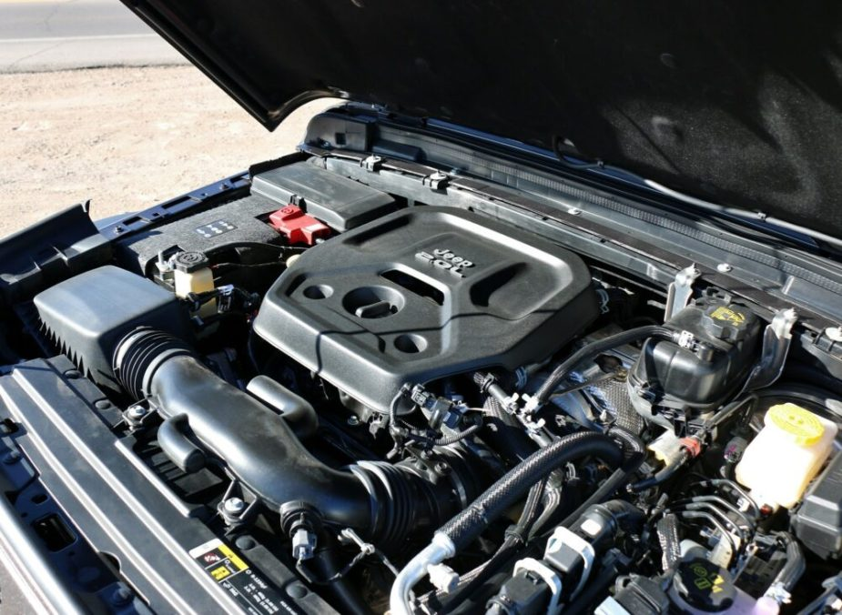 Jeep JL Wrangler 2.0 Turbo